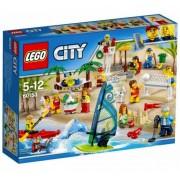 Lego Klocki konstrukcyjne City Zabawa na Plaży 60153
