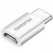Адаптер Huawei 5V2A Type C To Micro USB, Бял, 6901443115907