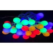 Minigloburi multicolore cu 50 de leduri