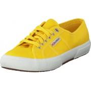 Superga 2750-Cotu Classic Sunflower, Skor, Sneakers och Träningsskor, Låga sneakers, Grå, Gul, Unisex, 42