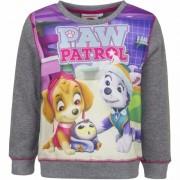 Geen Paw Patrol sweatshirt voor meisjes grijs