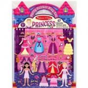 Игрален комплект стикери за многократна употреба - Принцеса, 19100 Melissa and Doug, 000772191005