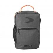 Dita Backpack Classic '18 - D.Grey Melange/Fluo Red