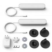 Philips Hue Play Pack de 2 Barras de Luz Regulável Branca + Alimentador