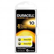 Baterie Duracell pentru aparat auditiv DA10 6buc