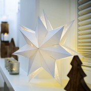Paper star 578027, double-layered, 40 cm
