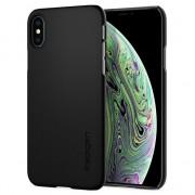 Spigen Étui rigide Spigen pour iPhone X XS - Noir