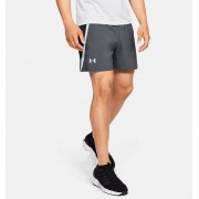 Under Armour Herenshort UA Launch SW - 15 cm - Mens - Gray - Grootte: 2X-Large