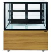 Saro Vitrine à Pâtisserie 2 Plaques de verre ajustables 270 litres 915x675x (H) 1210mm