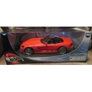 #53836 Hot Wheels Red Dodge Viper Srt 10 1/18 Scale Diecast