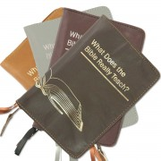 "Zipper cover for ""What does the Bible Really Teach?"" (2014 edition)"