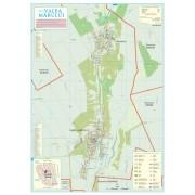Harta Comunei Valea Marului GL - sipci de lemn