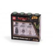 40651741 Cutie neagra pentru 8 minifigurine LEGO Ninjago