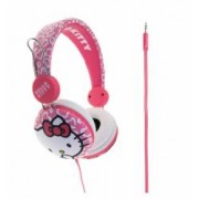 Casti pentru copii peste 8 ani Hello Kitty Essentials Pink Leopard