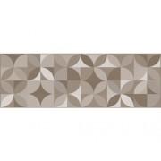 Decor faianta rectificata 3037-HL5-GP lucioasa 25x75 cm