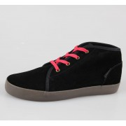 magasszárú cipő férfi - CIRCA - Stroke MID - Black Gum
