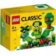 Конструктор Лeго Класик - Творчески зелени тухлички, LEGO Classic 11007