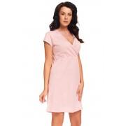 Monita szoptatós hálóing, rózsaszín XL