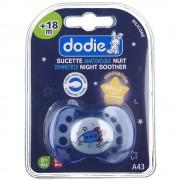 dodie® sucette anatomique silicone nuit +18 mois (Couleur non sélectio 3700763500942