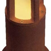 SLV Úsporná žárovka venkovní stojací osvětlení SLV Rusty Cone 40 229431, E27, 11 W, N/A, železo (rezavé)