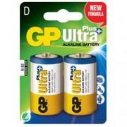 Gp Batteries Blister 2 Batterie Torcia D GP Ultra Plus