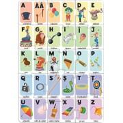 Puzzle Alfabetul la circ Noriel