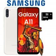 Celular Samsung Galaxy A11 32GB 2GB Dual Sim + Micro SD 32GB - Blanco
