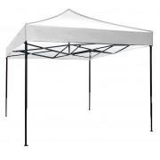 Сгъваема метална шатра FZD 3x3 м, бяла