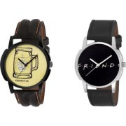 Timebre Men Hammered Friends Casual Analog Watch-422