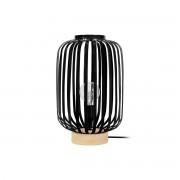 Lámpara de mesa diseño acero negro ALVEOL - Miliboo