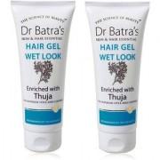 Dr. Batra's Wet Look Hair Gel Hair Styler 100g (Pack OF 2)