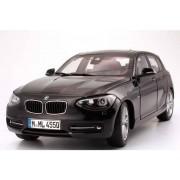 Miniatura BMW Seria 1 5 usi F20 1:18 Sapphire Black