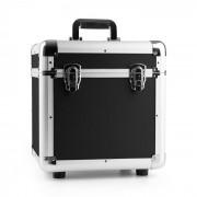 """Power Dynamics RC100, fekete, 12"""", alumínium lemeztartó koffer, bakelittartó, 100 LP lemez (Sky-171.823)"""