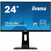 IIYAMA Monitor 24 XUB2493HS-B1 IPS,VGA,HDMI,DP,PIVOT