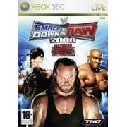 WWE Smackdown vs. Raw 2008 Xbox 360