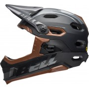 Bell Super DH Mips Downhill Casco Negro/Bronce L (58-62)
