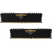 Memorija Corsair 16 GB kit (2x8GB) 2400 Mhz Vengeance LPX Black, CMK16GX4M2A2400C16