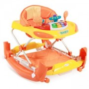 Бебешка проходилка Lorelli Люлка С Ев W1224Ce, Оранжева, 0746782
