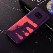 Thermo hoesje Samsung S8 Paars wordt roze bij warmte