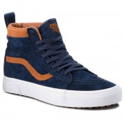Vans Sneakersy VANS - Sk8-Hi Mte VN0A33TXUCB (Mte) Suede/Dress Blues