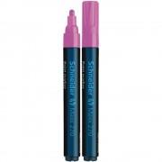 Marker cu Vopsea SCHNEIDER MAXX 270, Scriere 1-3 mm, Culoare Roz, Marker Colorat, Marker pentru Birou