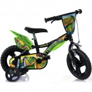 Dino Bikes Kids' Bicycle Dinosaur Green 12