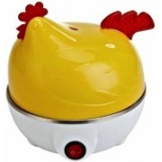 Sunrise Hen Shape Unique electric boiler steamer HEN MC-07 Egg Cooker(7 Eggs)