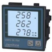 Analizor retea electrica Janitza UMG 96RM, comunicatie RS485, alimentare 90–277 VAC/90–250 VDC