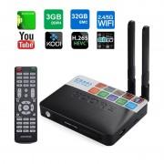 TV BOX CSA93 PRO 4K KODI Amlogic S912 Octa Core 64 biti 3GB RAM 32 GB ROM Wireless dual band BT DLNA Airplay Miracast