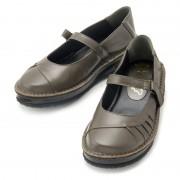 ドルチェ牛革ベルト付きプレーンシューズ【QVC】40代・50代レディースファッション