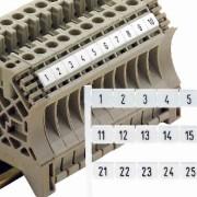 DEK 6 FW 1-50 (50 Stück) - Klemmenmarkierer dekafix ws DEK 6 FW 1-50 - Aktionspreis - 50 Stück verfügbar