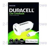 Duracell Billaddare 12v Apple iPhone 5s/6