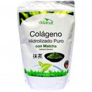 Colágeno Hidrolizado puro con Matcha 300 grs Vidanat