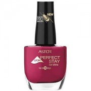 Astor Make-up Nails Perfect Stay Gel Shine Nail Polish Nr. 116 Seashell White 12 ml